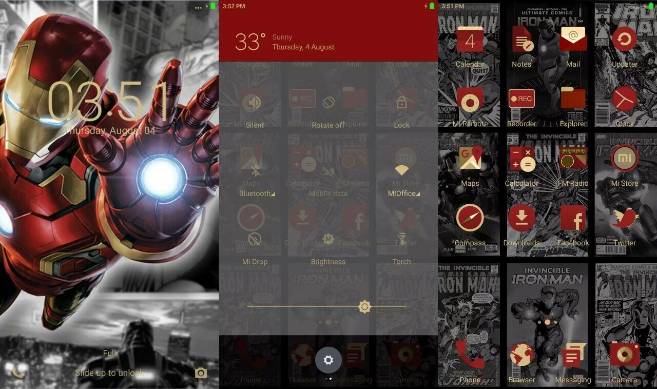 3 Tema MIUI Iron Man Keren yang Bisa Kamu Gunakan Gratis