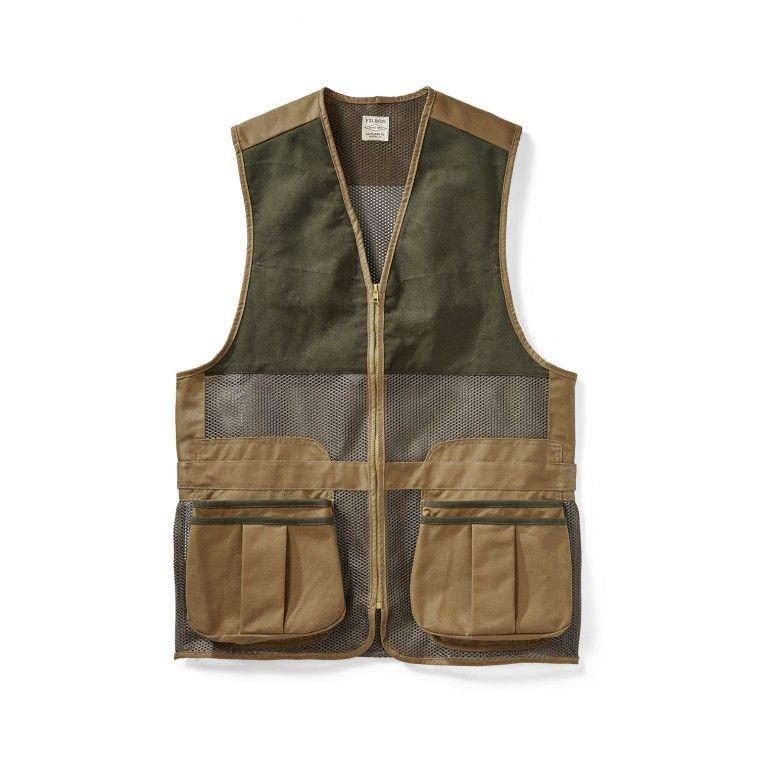 Lightweight Shooting Vest - Dark Tan - S