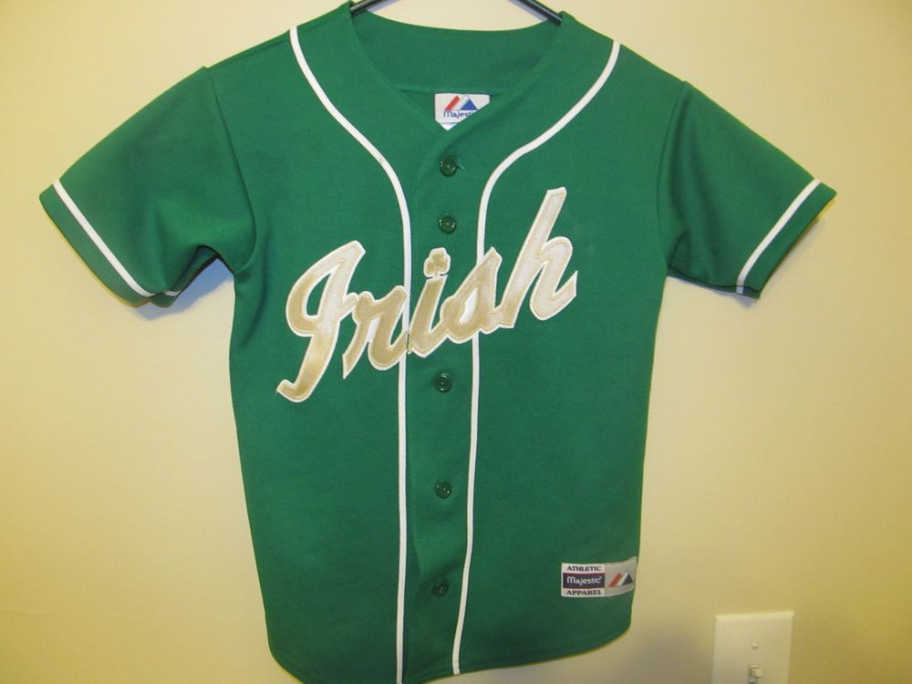 big sale 1cf11 9dacc Notre Dame Fighting Irish Baseball jersey , Women's Small ...