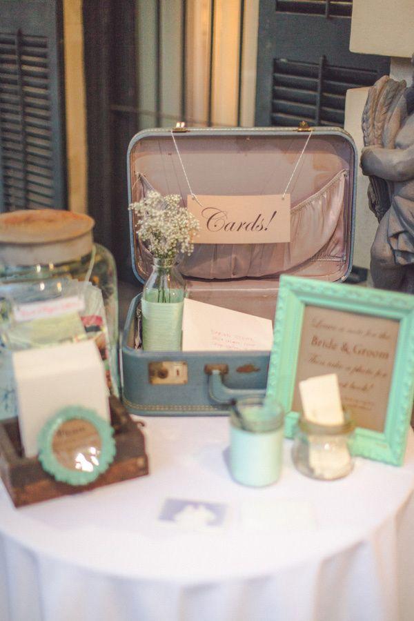 Rainy Savannah Wedding 62 Ruffled In 2020 Gift Table Wedding Card Box Wedding Vintage Wedding Reception Tables