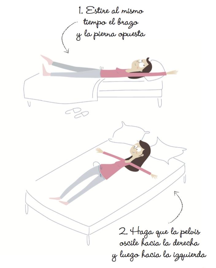 Ejercicios para hacer en la cama para adelgazar