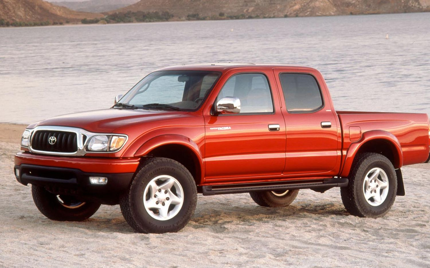 1st gen toyota tacoma crew cab 3rd post facelift