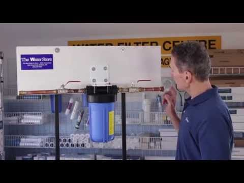 How to Change a Whole House Sediment Water Filter httpgoogl