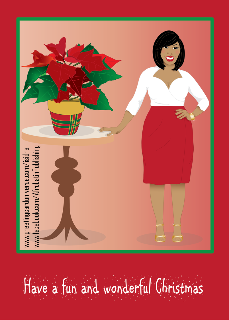 Merry Christmas Card Fun And Wonderful Christmas With Poinsettias