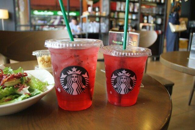 My Favorite Drink From Starbucks Very Berry Hibiscus Refresher