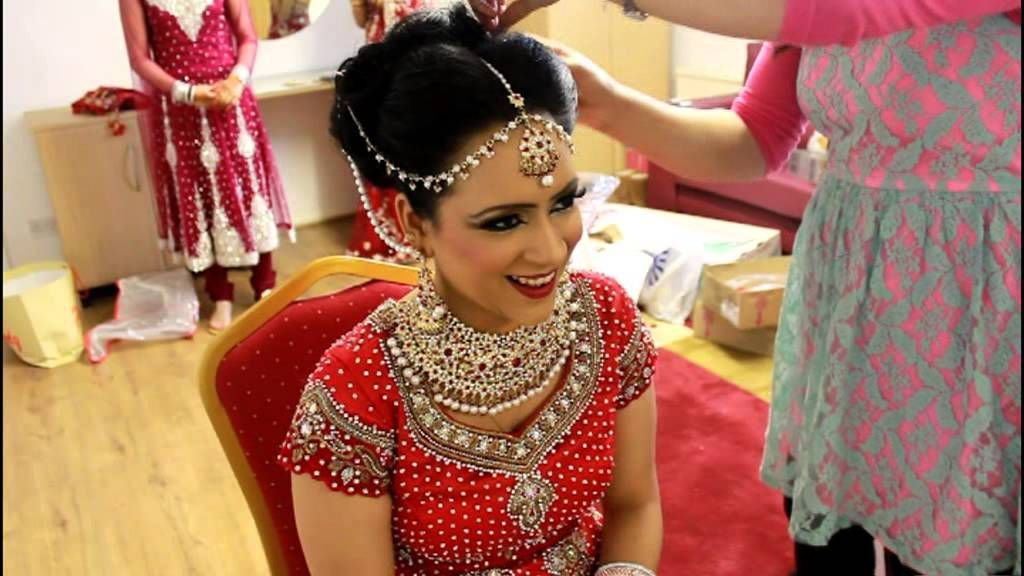Real Bridal makeup and hair by Sadaf Wassan | Asian Bridal Hair ...