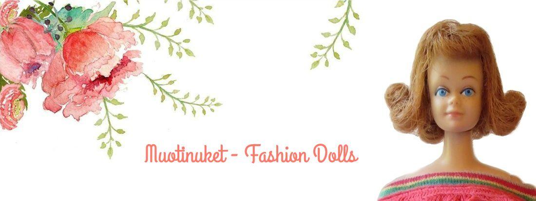 Facebookissa toimii myös Muotinuket - Fashion Dolls -ryhmäni, joka kokoaa yhteen muotinukkejen harrastajia.