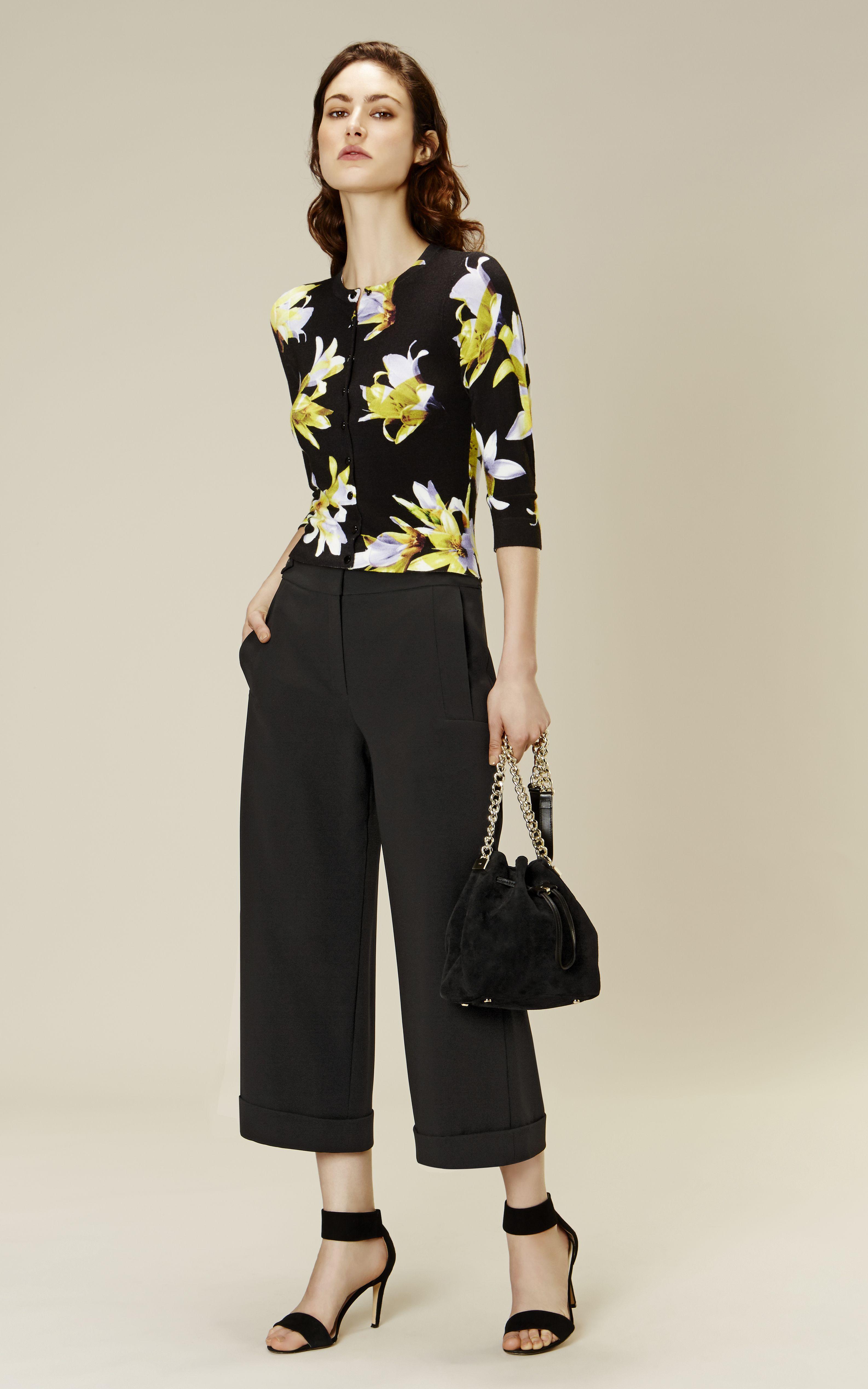 Karen Millen Floral-print cardigan | The Atelier: Summer 16 ...