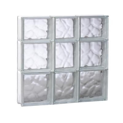 Clearly Secure 21 25 In X 21 25 In X 3 125 In Frameless Wave
