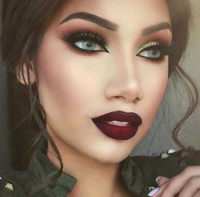 Autumn Winter make-up 2018-2019 - The Style Tribune -   13 evening makeup 2018 ideas