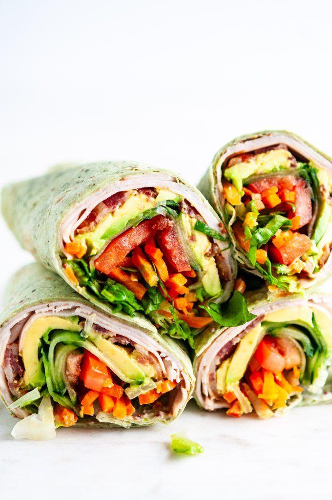Photo of Turkey BLT Wraps – Aberdeen's Kitchen