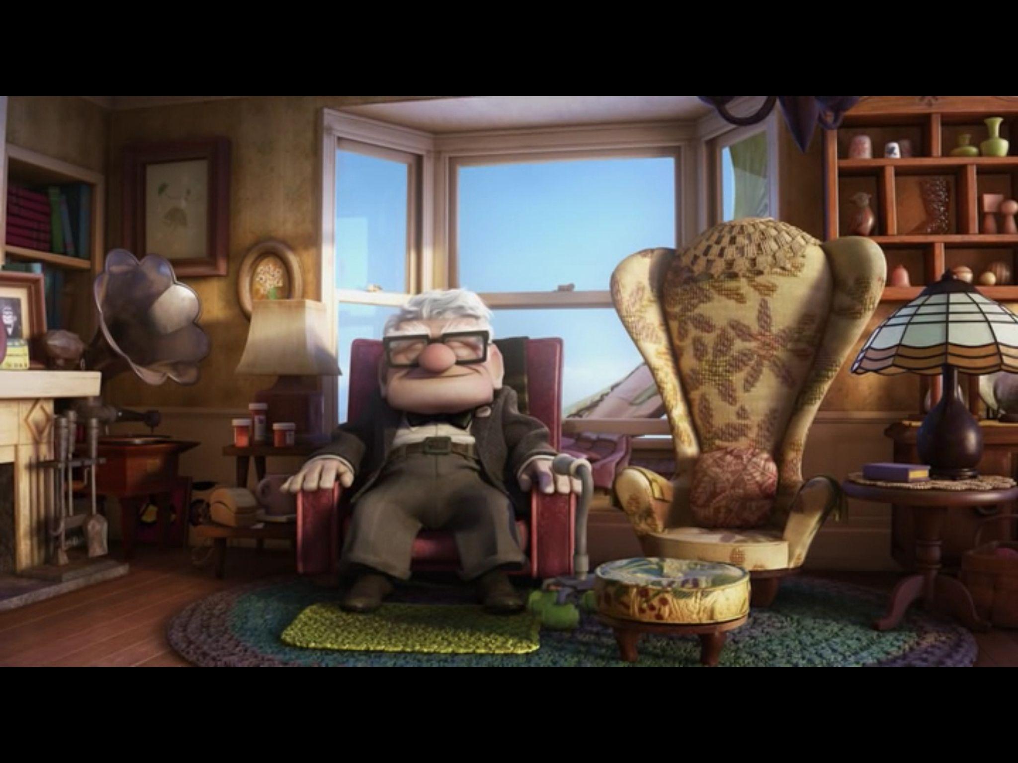 Inside Up House 2 Up Movie House Up Pixar Disney Pixar Up