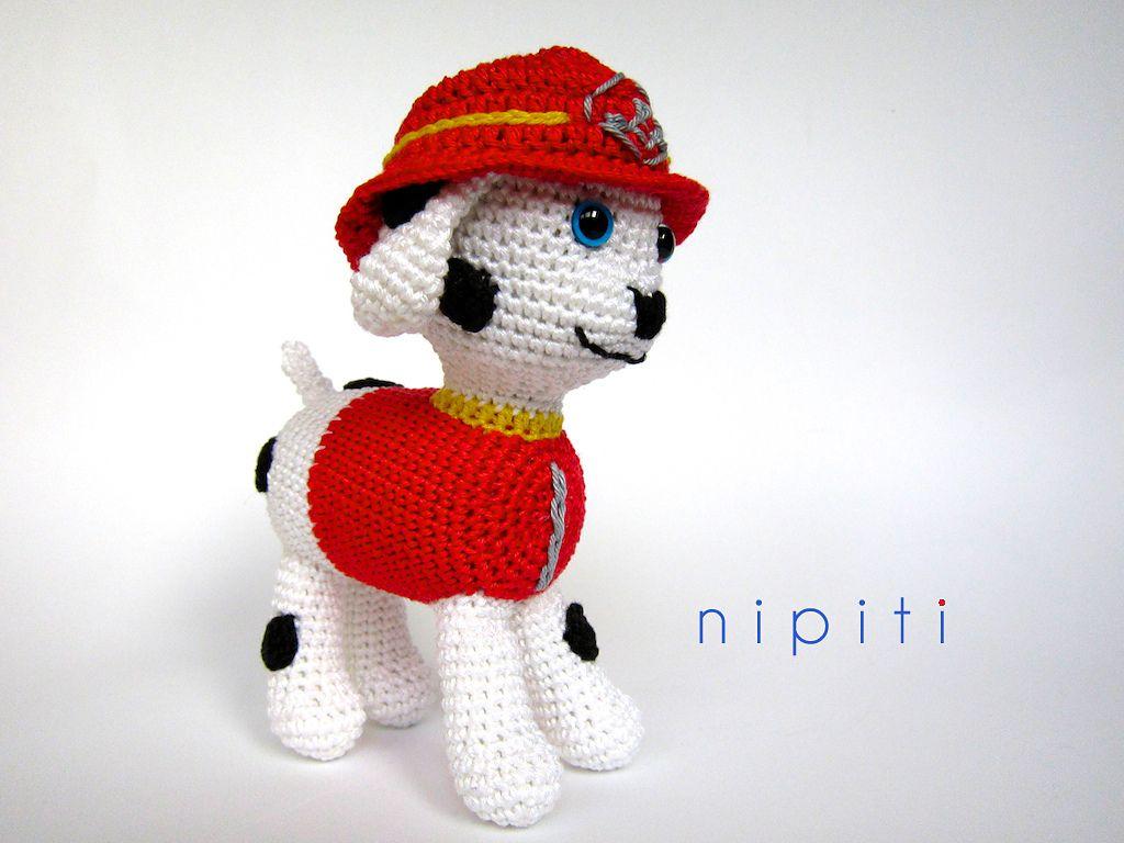 Ravelry: Paw Patrol Puppy - Marshall by nipiti | Baby | Pinterest