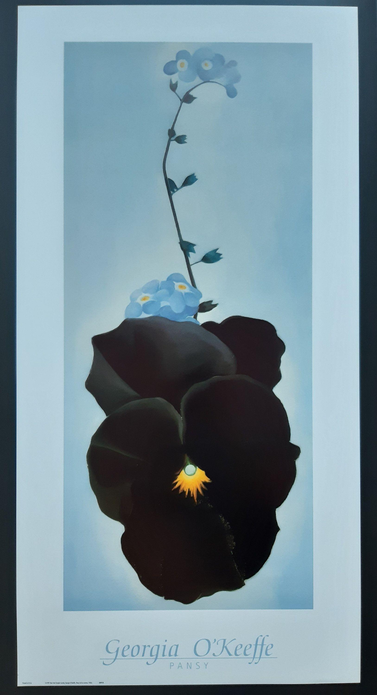 georgia o keeffe original kunstplakat