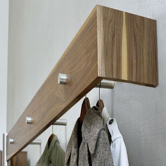 25 WallMounted And Ceiling Coat Racks And Hooks (DigsDigs) is part of  - Fall is here, and days and nights are getting a bit chilly, most of us start wearing scarves, jackets and even trenches  Where to hang them upon coming home  Where to put your umbrellas  You'll need s