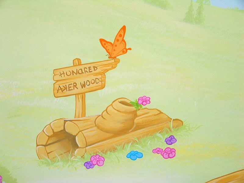 Winnie The Pooh Mural E Shepherd Winnie The Pooh Pooh Pooh Bear