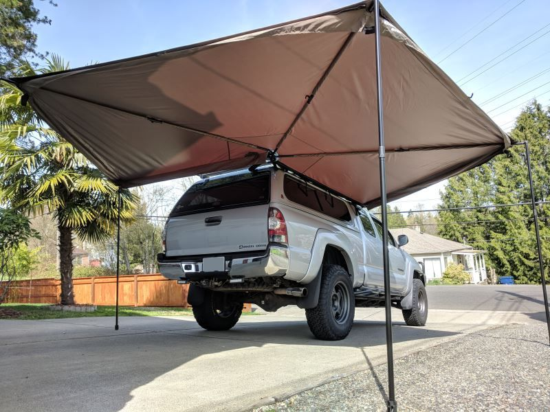 Rhino Rack Batwing Awning Roof Rack Mount Bolt On Driver S Side 118 Sq Ft Rhino Rack Car Awn Roof Rack Awning Roof Car Awnings
