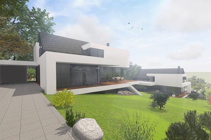 moderne architektenvillen starnberger see design pinterest villa grundrisse kleiner. Black Bedroom Furniture Sets. Home Design Ideas