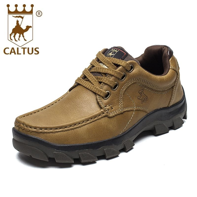 Click To Buy Caltus Business Formal Shoes Men Light Weight New Design Genuine Leather Summer Casual S Leather Shoes Men Dress Shoes Men Boys Casual Shoes