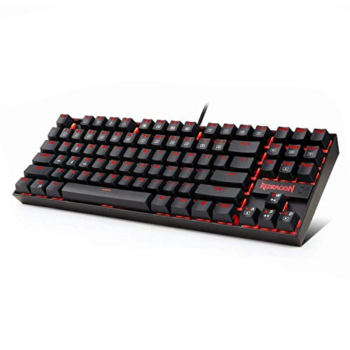 Redragon K552 Mechanical Gaming Keyboard Rgb Led Rainbow Backlit Wired Keyboard With Red Switches For Windows Gaming Pc Technology Of Software And Hardware Mechanical Computer Computer Keyboard Keyboard