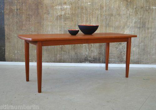 60er teak couchtisch tisch danish design 60s sowas hinter for Tisch design danemark