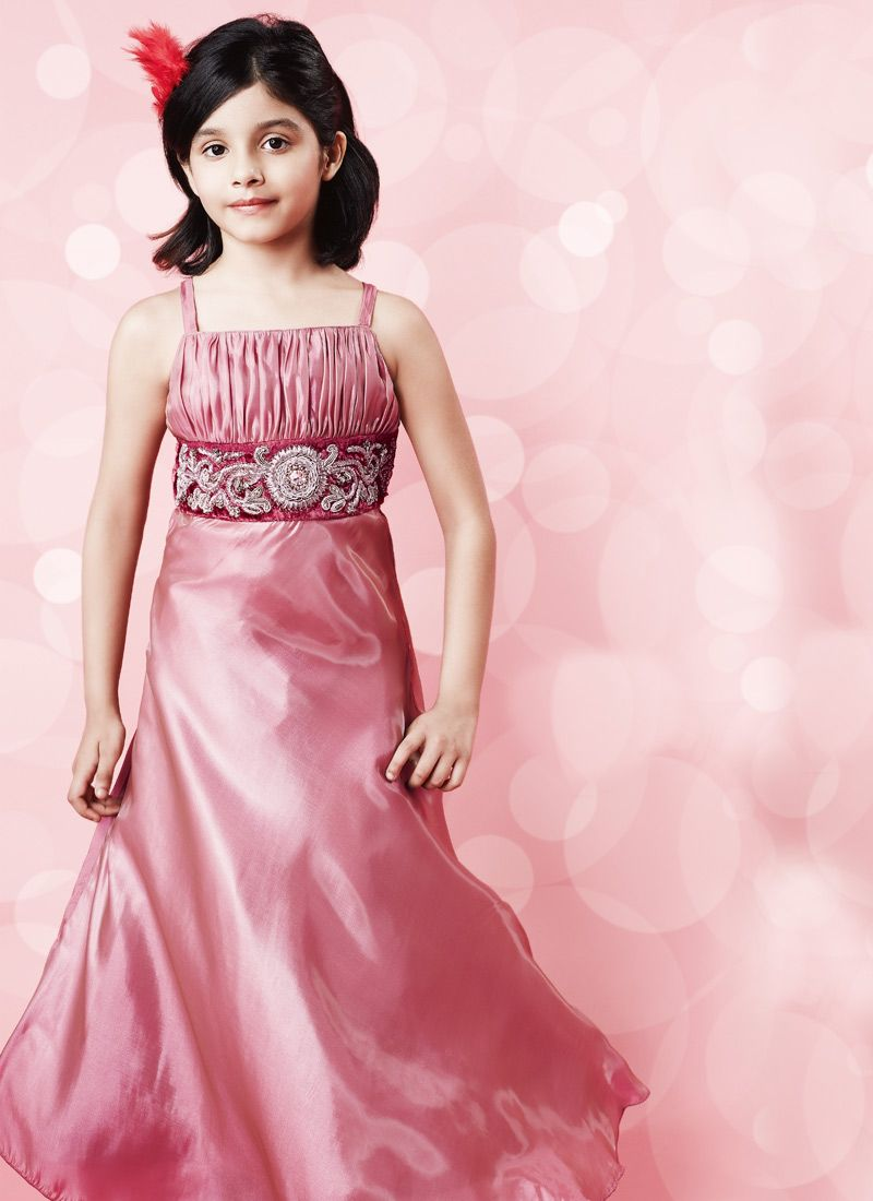 1f13bfa27340 Latest Kids Party Wear Frocks