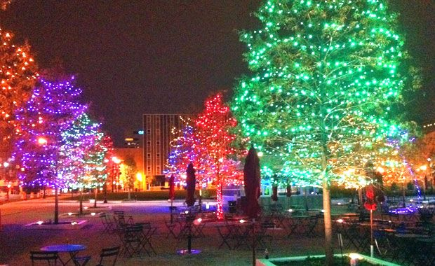 Grand Illumination Festival Takes Place Downtown On Friday Holiday Lights Columbus Ohio