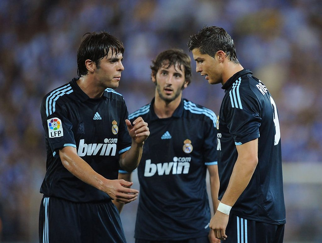 b08997154 Cristiano Ronaldo and Kaka Photos - Espanyol v Real Madrid - La Liga -  Zimbio