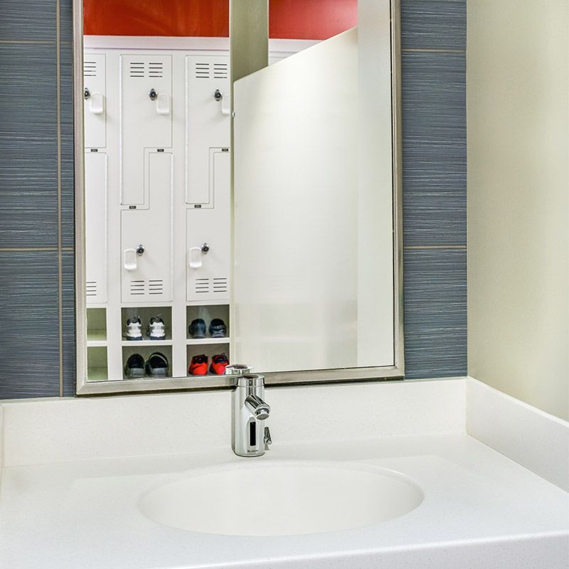 Advanced faucets users chose the sloan eaf faucet because