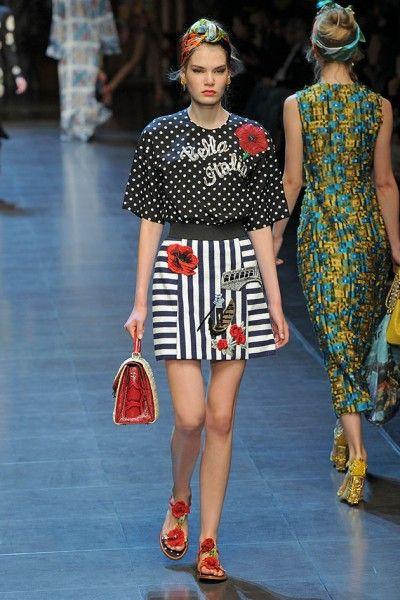 Dolce   Gabbana primavera-verão 2016   VERAO 2017 -privado   Fashion ... 2c74055afa
