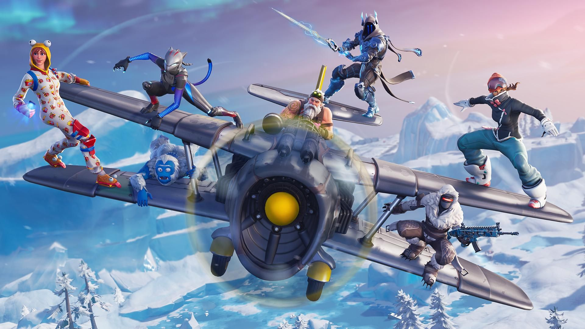 Fortnite Season 7 Plane Attack Wallpaper 1920x1080 Need Trendy Iphone7 Iphone7plus Case Check Out Https Ift Tt 2itgto5 Fortnite Epic Games Season 7