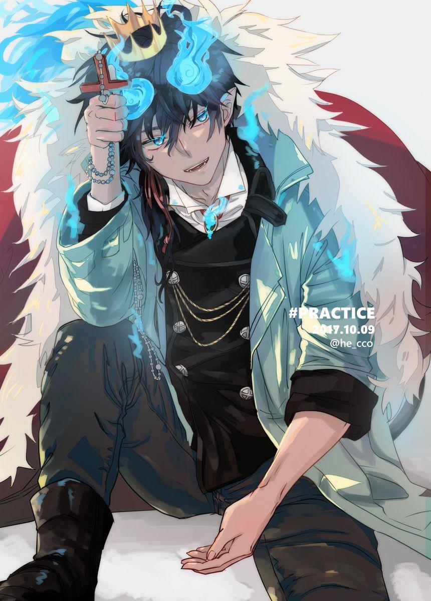 Rin Okumura is the king Rin okumura, Personagens de