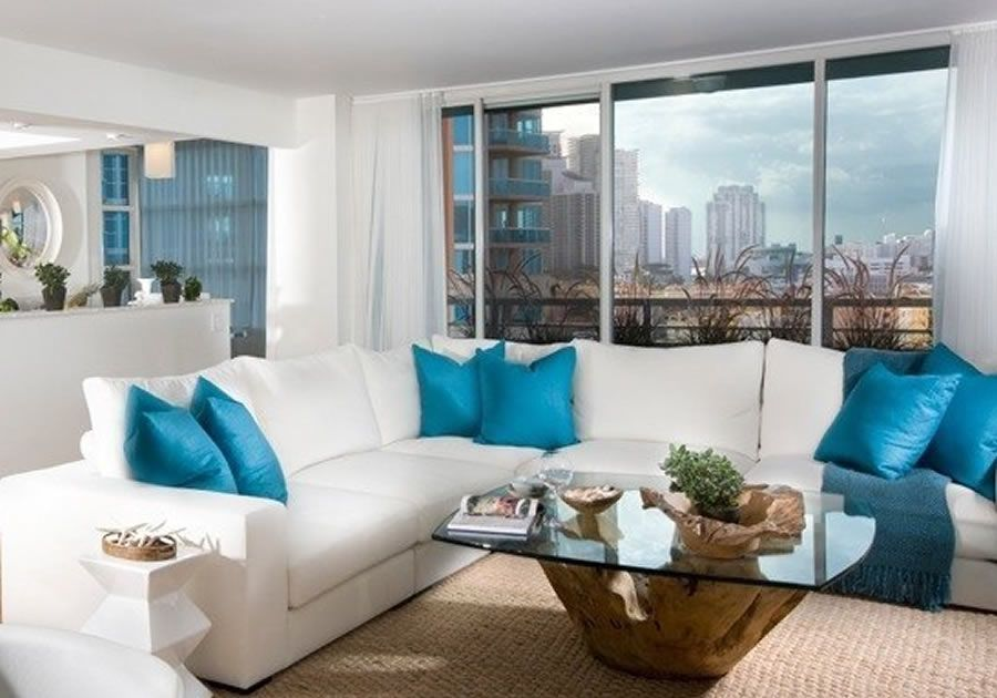 Luxury Residential Apartment Interior Design Of South Pointe Tower Miami Living Room Products Images Photos And Pictures Gallery DESIGN