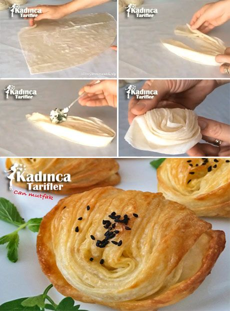Midye Börek Tarifi - Midye Börek Nasıl Yapılır Çay saati Tarifi