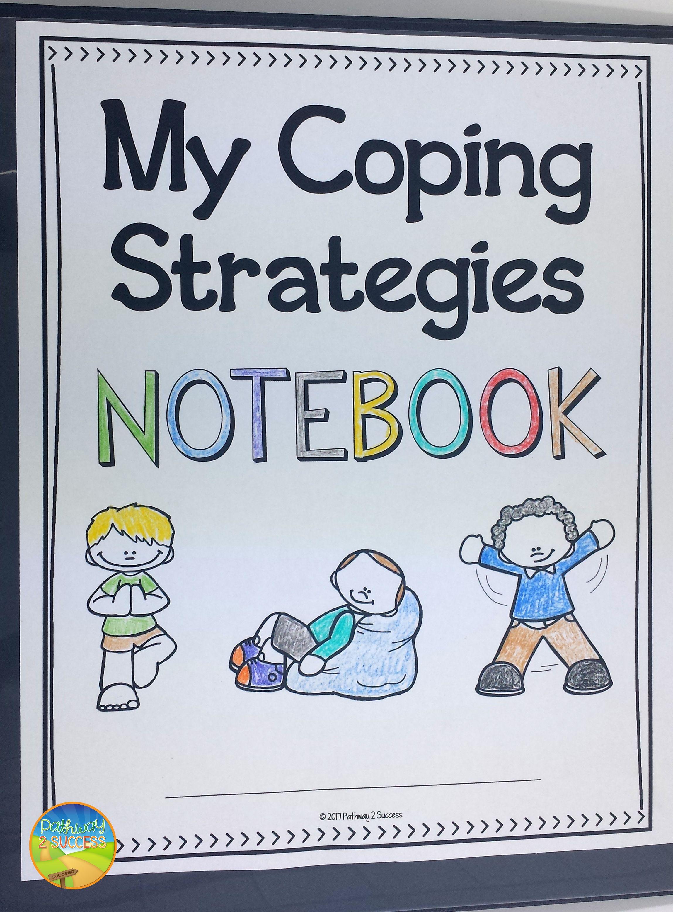Free Coping Strategies Notebook Sampler