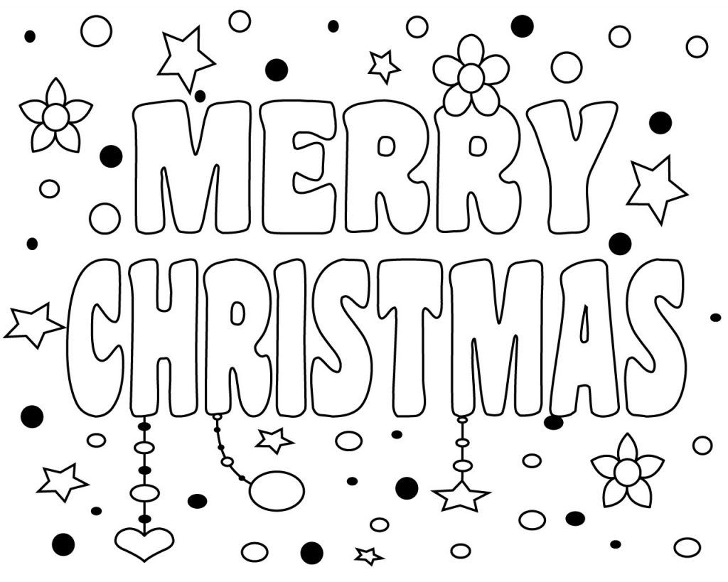 Merry Christmas Coloring Pages Merry Christmas Coloring Pages Free Christmas Coloring Pages Printable Christmas Coloring Pages