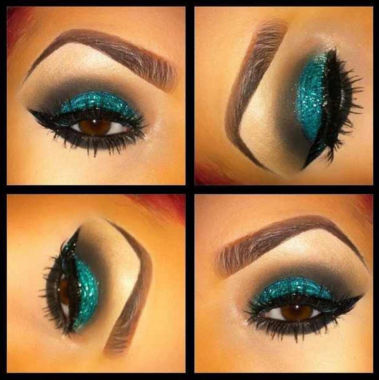 Aqua eyeshadow | My Make Up Obsession | Pinterest | Aqua, Aqua ...