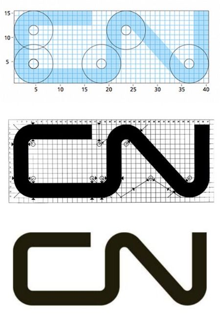The timeless CN mark was designed by Allan Flemming in ...