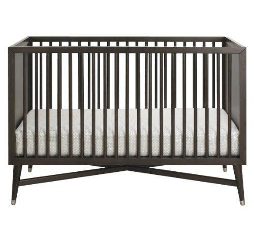 Amazon Com Dwellstudio Mid Century Crib Espresso Convertible Cribs Baby Cribs Nursery Furniture Dwell Studio