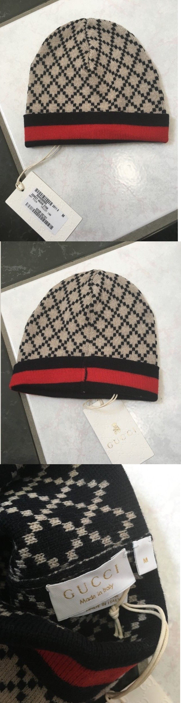 41022052c Hats 163224: Nwt 100% Auth Gucci Baby Boys Navy Blue Diamante Beanie ...