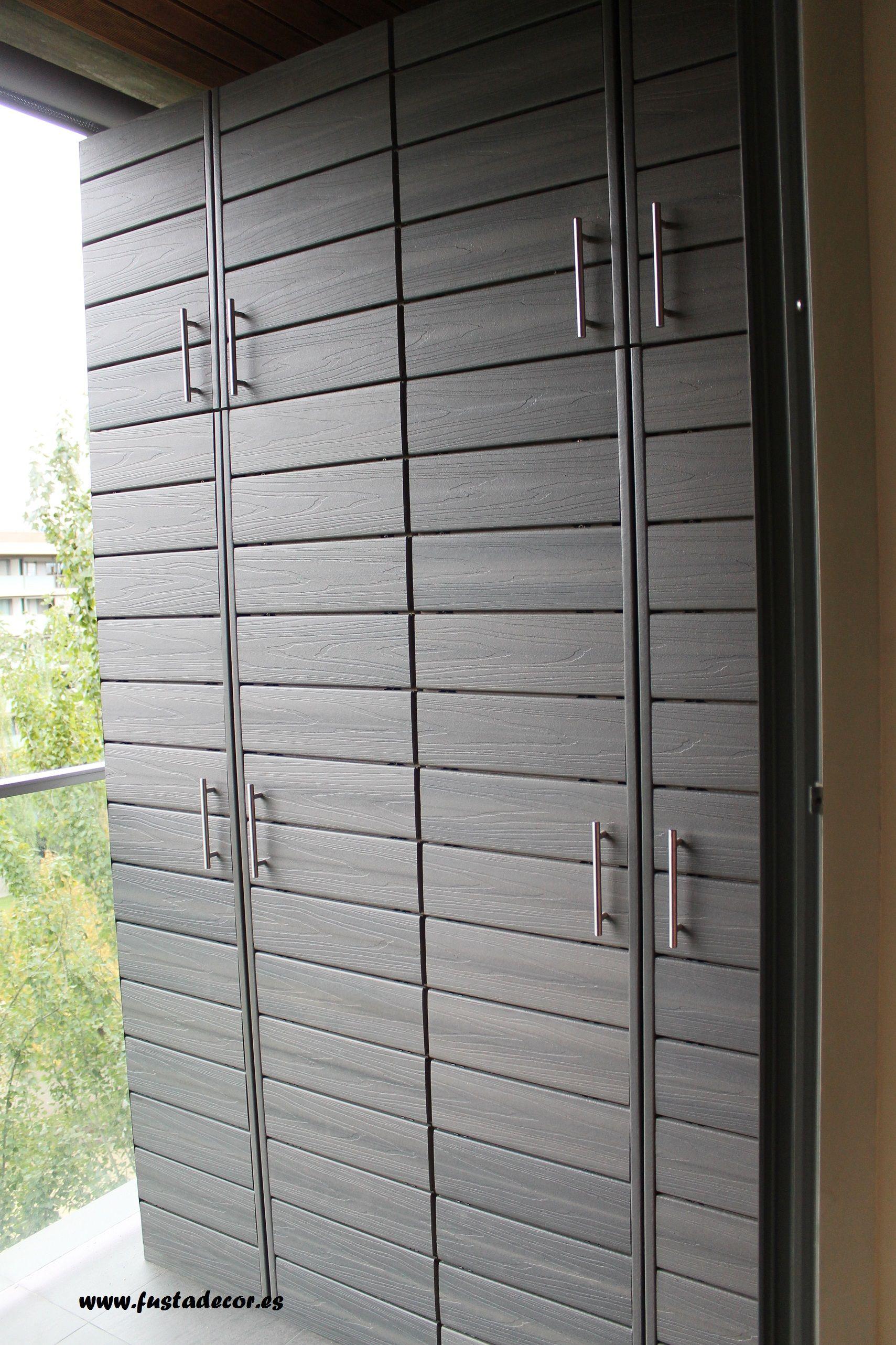Armario de exterior terrazas cubiertas pinterest for Armario exterior