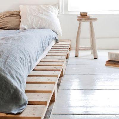 very simple bedroom