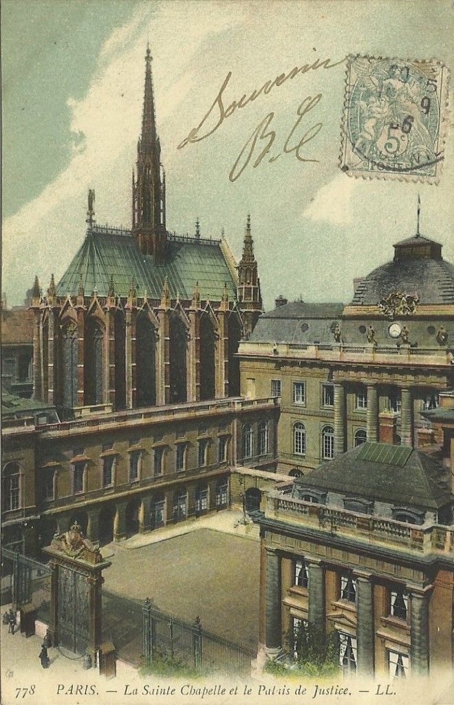Vieux Paris. I Arrondissement. Louvre