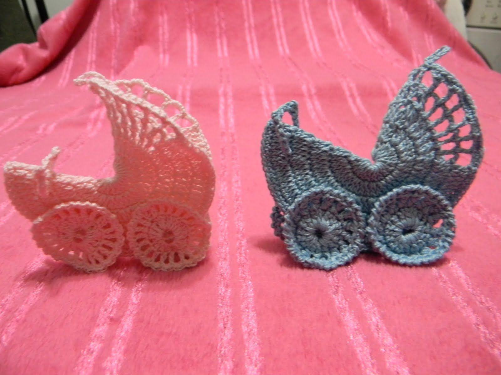 Recuerditos Para Baby Showers ~ Baby recuerdos a crochet para baby shower como hacer