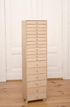 Seltener Schubladenschrank Apothekerschrank Holz IKEA