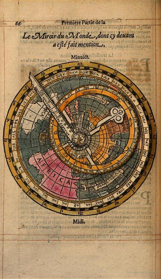 Cosmographie ou description des quatre parties du Monde escrite