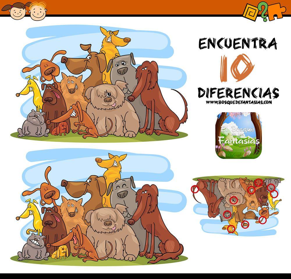 Juegos De Encontrar Diferencias Fichas Infantiles Encuentra Las Diferencias Juegos De Diferencias Juegos De Buscar Diferencias