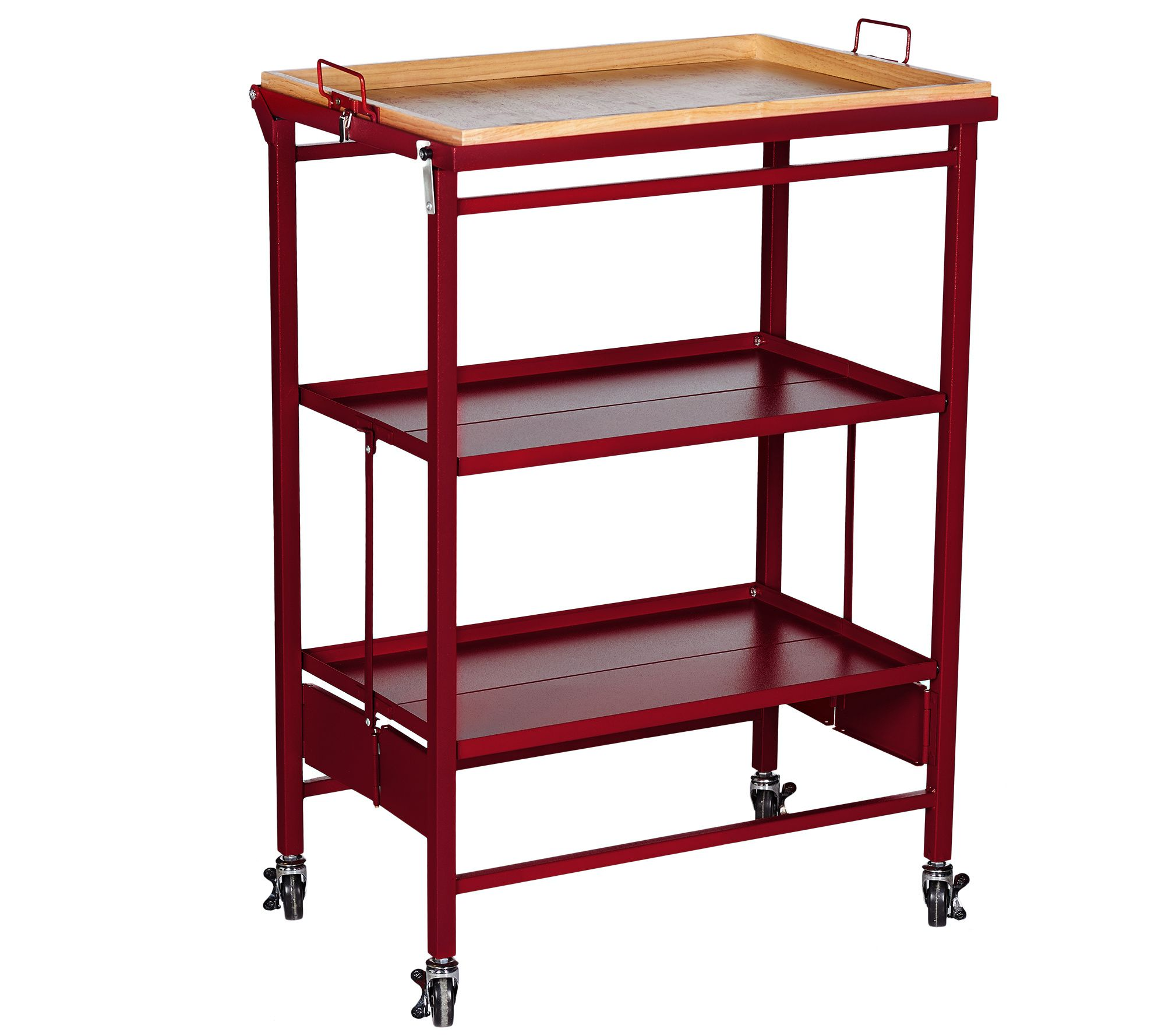 Instant Counter Space When You Need Some Extra Room For Food Prep Just Roll This Temp Tations Cart Into The Kit Kitchen Cart Retro Kitchen Old World Kitchens