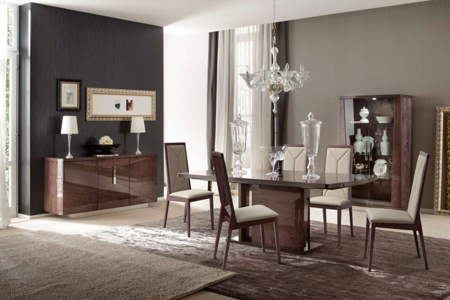 Eva Dining Room Collectionalfda Fre  Dining Tables Stunning High Quality Dining Room Sets Review