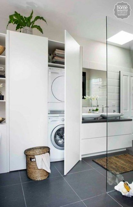 New Bathroom Small Laundry Cupboards Ideas